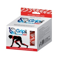 Gripit Active KTape - Red 10cm