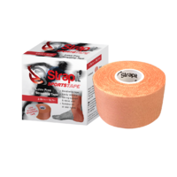 38mm Latex Free Rigid Sports Strapping Tape - Single Rolls