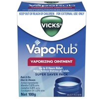 Vicks Vapor Rub 100g
