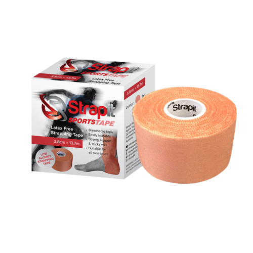 38mm Latex Free Rigid Sports Strapping Tape